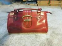 Red shoulder bag,like new used once.