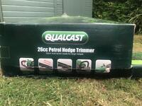 Qualcast petrol hedge trimmer new