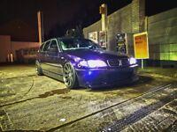 Modified Bmw e46 330D show car !!!