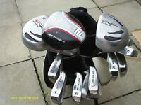"MENS ""DUNLOP MAX"" RIGHT HAND GOLF CLUBS FULL SET"