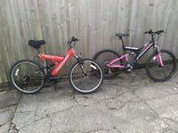 2 x Bike's For Sale