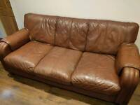 *** FREE TO GOOD HOME **** 3 seater and 2 seater settee
