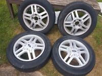 "Ford focus Mk1 15"" alloy wheels set"