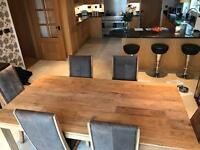 John Lewis BATAMBA table and 6 chairs
