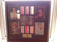 Marilyn Monroe Limited Edition film cells