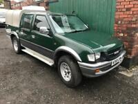 Isuzu double cab 4x4 pick up Truck 3.1td spares or repairs