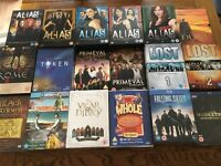 TV Boxsets for sale (falling skies, musketeers, breaking bad, blackadder, vicar of dibley and more)