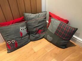 6 DIFFERENT CUSHIONS FOR SALE
