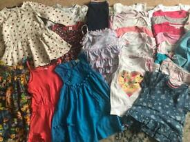 Large bundle of girls clothes age 2-3 years