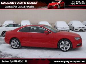 2014 Audi A5 2.0 Komfort COUPE/AWD/6-SPEED/LEATHER/ROOF