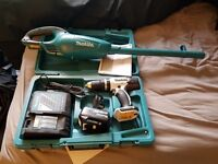 Makita Drill and Hoover (never used) 2 complete sets!