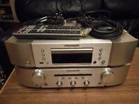Marantz cd6005 cd player pm6003 amplifier