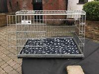 Dog cage - specially designed for hatchback vehicles
