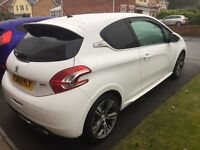 Peugeot 208 GTi THP 3dr (63) excellent example with low mileage.