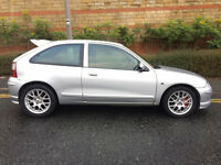 MG ZR 1.4 TROPHY 2005 STUNNING CLEAN CAR -9 MONTHS MOT-ALLOYS/AIR CON CD-CHEAP ROAD TAX-CAN DELIVER