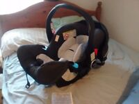 Graco rear-facing car seat