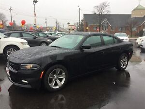 2015 DODGE CHARGER SXT- HEATED SEATS, REMOTE START, U-CONNECT, S