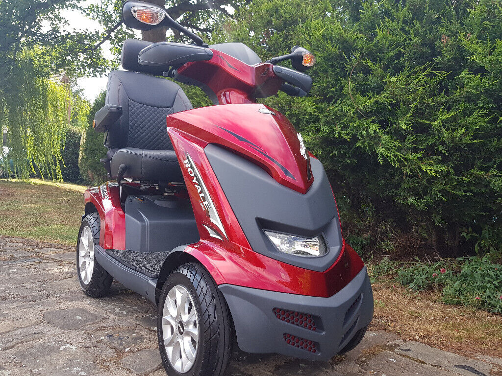MOBILITY SCOOTER DRIVE ROYALE 4 DISABILITY SCOOTER  HEAVY DUTY 8 mph  SCOOTER RED ROYALE MOBILITY | in Wakefield, West Yorkshire | Gumtree