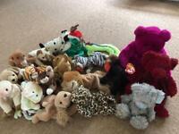 Beanie Babies soft toys