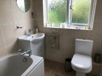 For Sale - 3 piece white bathroom suite