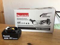 new makita 18v dda350 angle drill + 4ah starred batt. bl1840+ dda350z: the thinnest - Made in Japan.