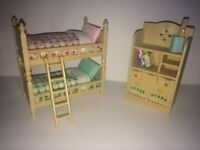 Sylvanian Twin Bedroom