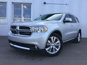 2011 Dodge Durango Crew Plus, AWD, LEATHER SEATS, BACKUP CAMERA,