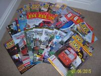 Bus Magazines. 30 in total. Classic bus etc