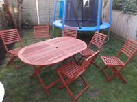 7 Piece Garden Furniture Set