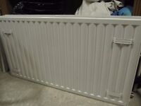 White K2 radiator 110cm x 60 cm