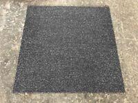 *EXCELLENT CONDITION* Dark Grey Carpet Tiles - £1 per tile (2,000 tiles in total)