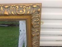 Stunning large feature mirror 50 x 42 inch