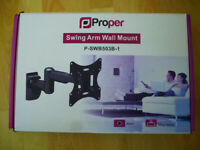 TV / Monitor Swing Arm Wall Mount (New)