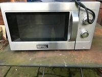 Commercial Buffalo microwave used 1 month