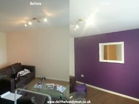 Handyman / Odd Jobs / Home Maintenance / TV Mount / Refurbishments / Full Houses painted from £379
