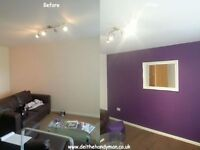 HAndyman / Odd Jobs / Home Maintenance / Refurbishments / Full Houses painted from £449