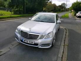 Mercedes E220 EXEC-IVE SE CDI BLUE-CYA 61 plate Automatic
