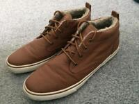 NEXT Branded Brown Leather Shoes Size 9