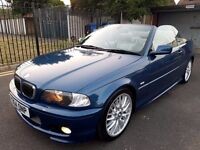 BMW E46 330CI M SPORT CONVERTIBLE HIGH SPECIFICATION:
