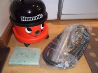 Henry Numatic Cylinder ..hard working cleaner, brand new set of tools.