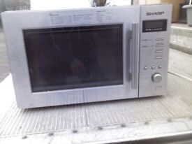 SHARP MICROWAVE GREAT WORKING CONDITION AND CLEAN