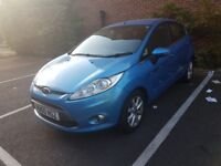 £2000 ACCEPT OFFERS. 5 DR. BLUE. FORD FIESTA 2010