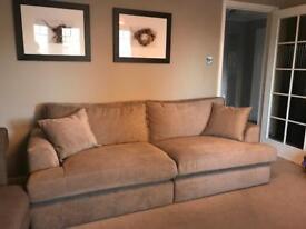 Large NEXT Sofa - Mink