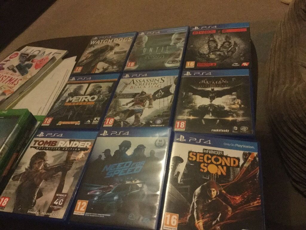 Loads ps4 games for sale from £13 upto £37 each some sealed