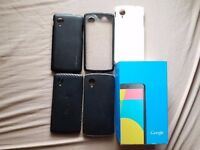 Nexus 5 32GB BOXED +4 Cases