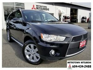 2010 Mitsubishi Outlander XLS S-AWC; Local BC vehicle! PRICED TO