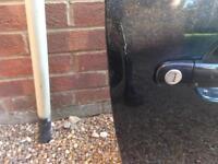 2007 seat Ibiza offside door in black