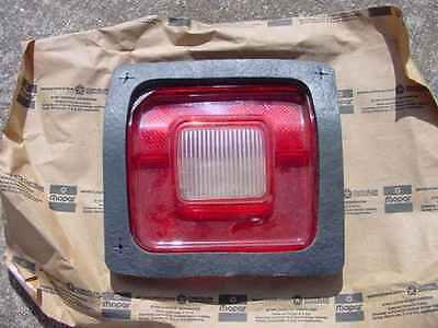 1973 74 75 76 Dodge Dart Sport NOS MoPar Right BACK UP TAIL LAMP LENS #3798200