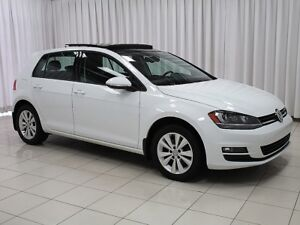 2015 Volkswagen Golf Comfortline 5-Speed! Sunroof! Back-up Cam!