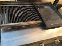 Charcoal Grill/Griddle Nat Gas